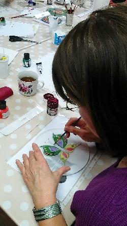 Maľovanie na hodváb s Jarkou II