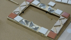 Mozaikové rámčeky