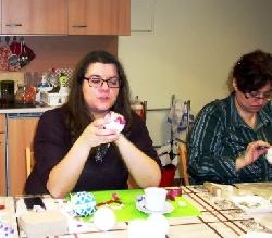 Nešitý patwchwork - vianočné gule